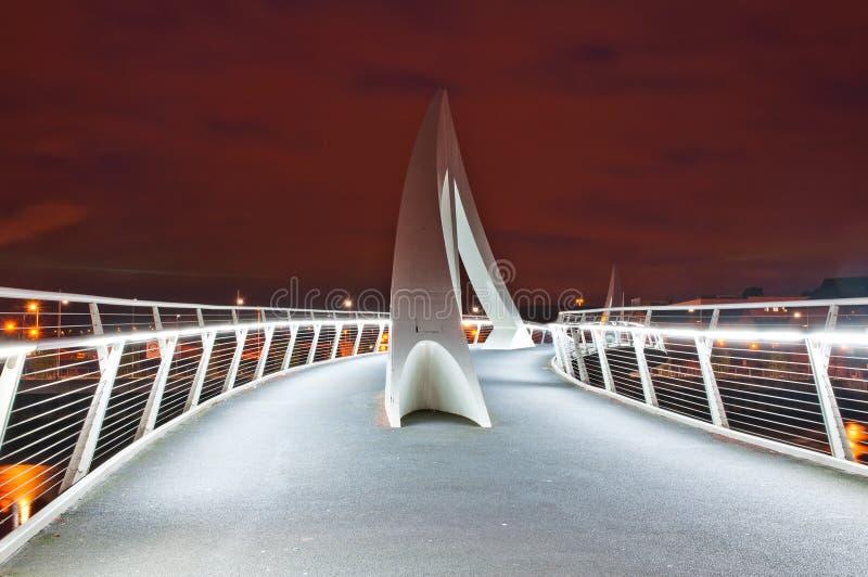 Γέφυρα της Γλασκώβης στοκ φωτογραφία με δικαίωμα ελεύθερης χρήσης