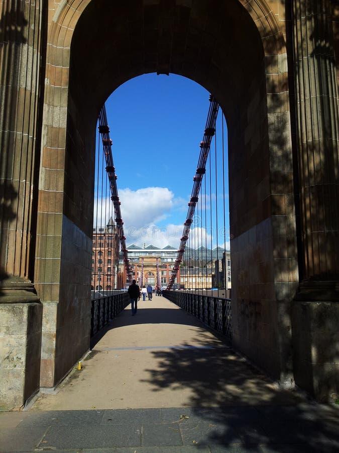 Γέφυρα της Γλασκώβης στοκ εικόνα με δικαίωμα ελεύθερης χρήσης