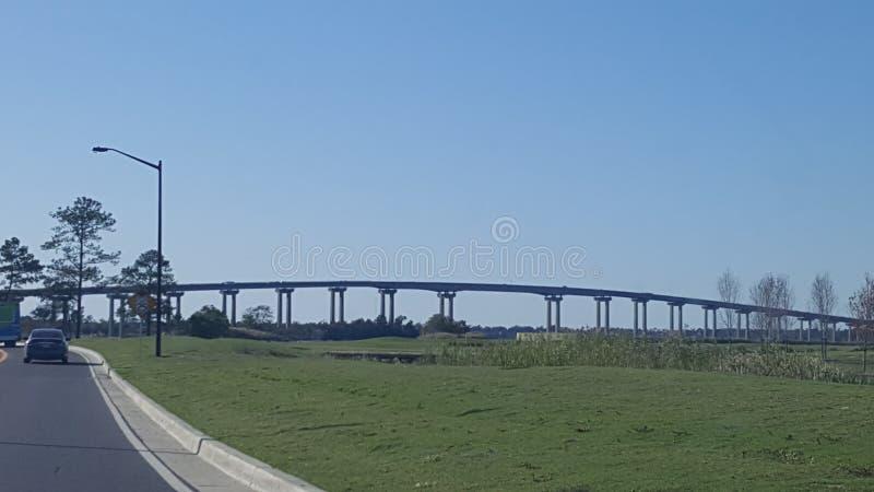 Γέφυρα της Λουιζιάνας στοκ φωτογραφία με δικαίωμα ελεύθερης χρήσης