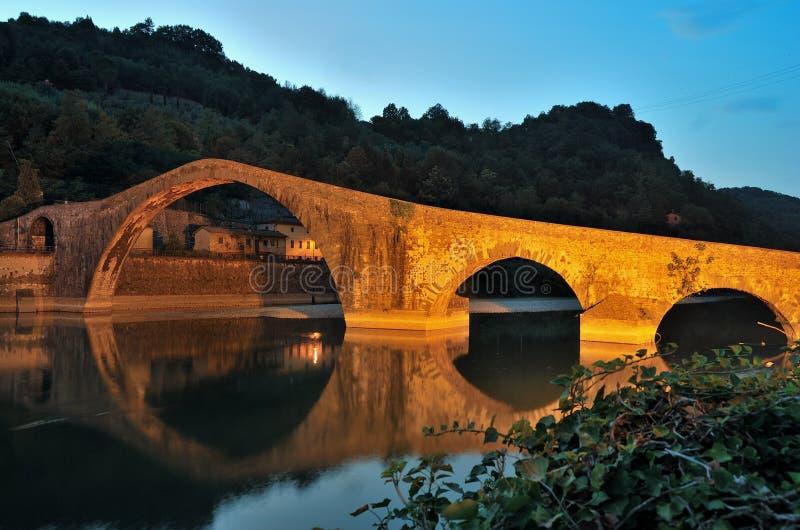 Γέφυρα της Maddalena στοκ φωτογραφία με δικαίωμα ελεύθερης χρήσης