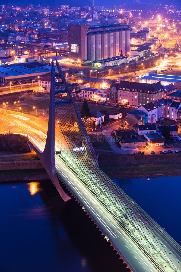 γέφυρα τισσα Παρθένου Μα&rho στοκ εικόνα με δικαίωμα ελεύθερης χρήσης