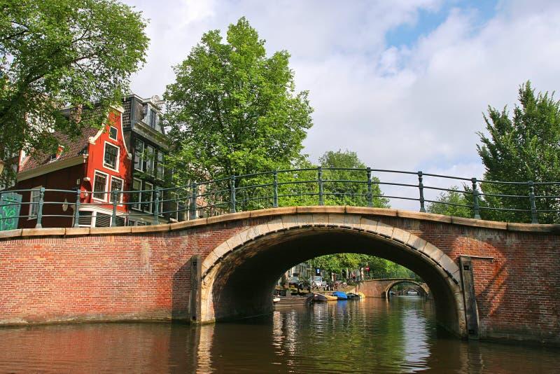 γέφυρα του Άμστερνταμ μικ& στοκ φωτογραφίες