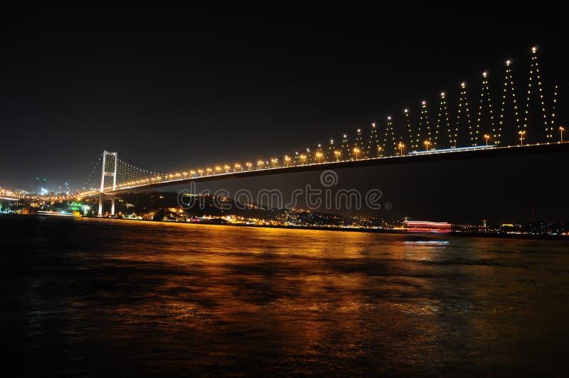 Γέφυρα του Βοσπόρου στοκ φωτογραφία με δικαίωμα ελεύθερης χρήσης
