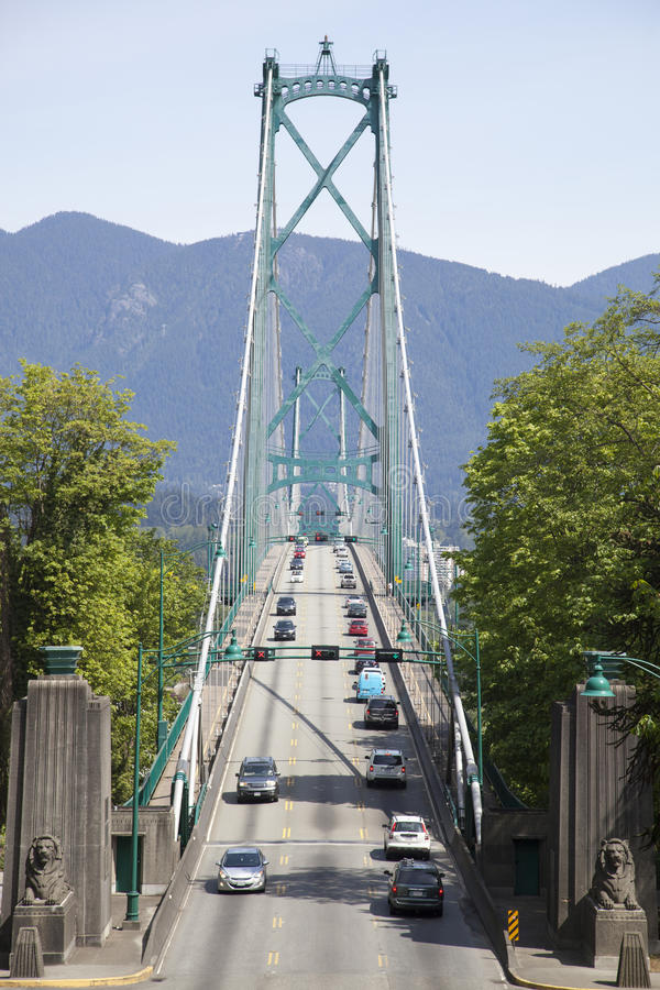 Γέφυρα του Γκέιτς λιονταριών στοκ εικόνα με δικαίωμα ελεύθερης χρήσης