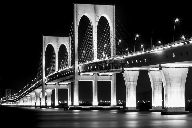 Γέφυρα του Μακάο στοκ φωτογραφίες με δικαίωμα ελεύθερης χρήσης