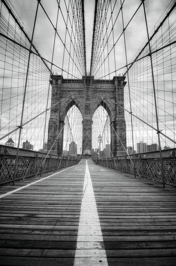 Γέφυρα του Μπρούκλιν στοκ φωτογραφία με δικαίωμα ελεύθερης χρήσης
