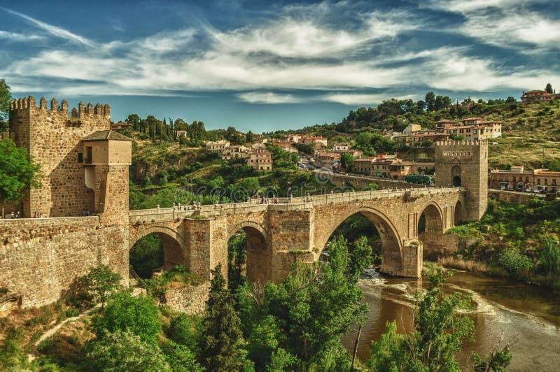 Γέφυρα του Τολέδο στοκ φωτογραφίες