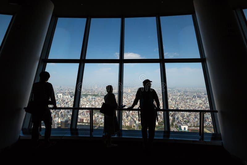 Γέφυρα του Τόκιο Skytree Tembo στοκ φωτογραφία με δικαίωμα ελεύθερης χρήσης