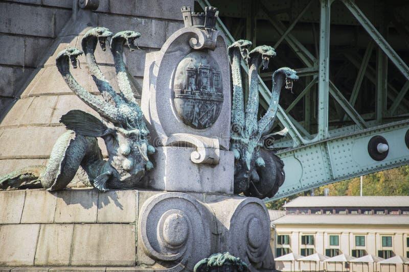 Γέφυρα του Charles, Πράγα στοκ εικόνα