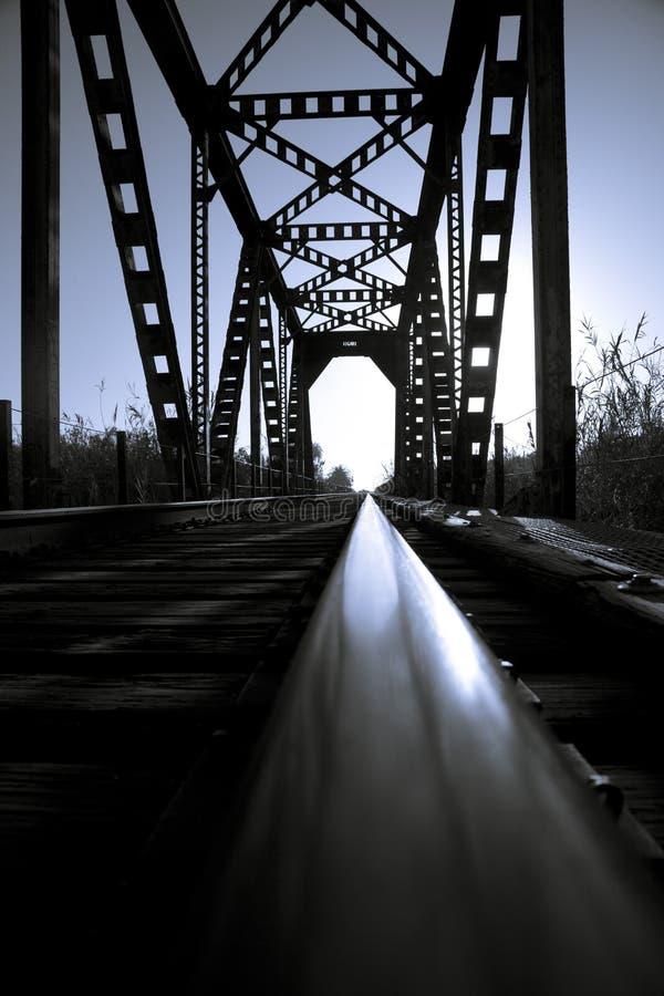 Γέφυρα τραίνων στοκ εικόνα