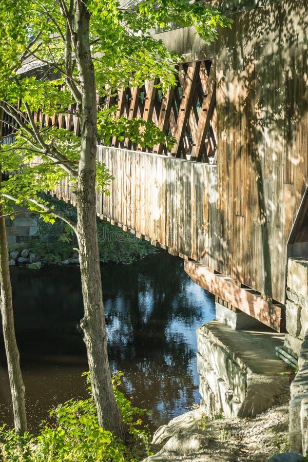 γέφυρα φθινοπώρου που κ&alph στοκ εικόνες με δικαίωμα ελεύθερης χρήσης