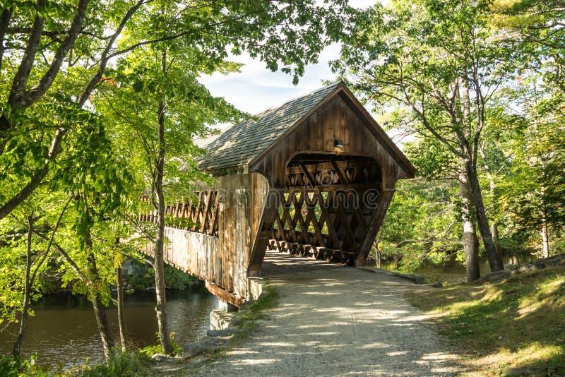γέφυρα φθινοπώρου που κ&alph στοκ φωτογραφία με δικαίωμα ελεύθερης χρήσης