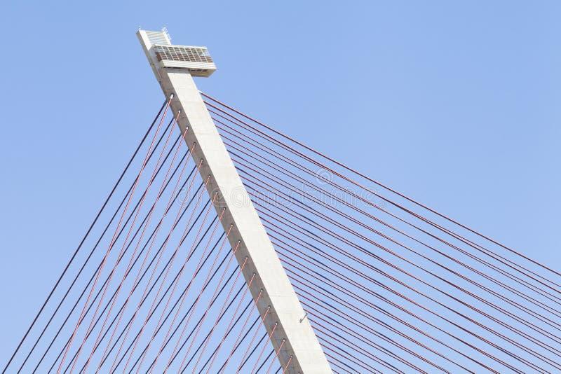 Γέφυρα χάλυβα σύγχρονη στοκ φωτογραφίες με δικαίωμα ελεύθερης χρήσης