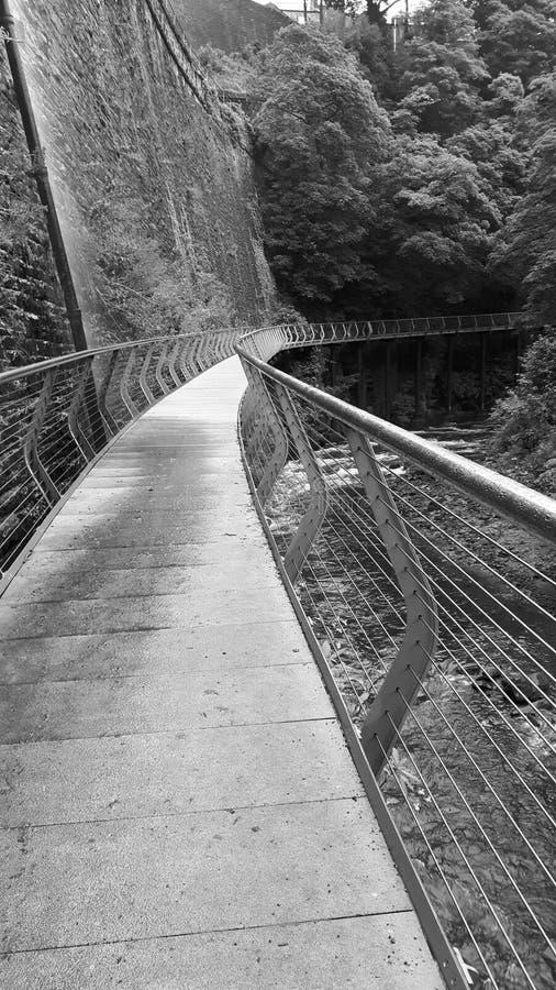 Γέφυρα χιλιετίας στοκ φωτογραφίες