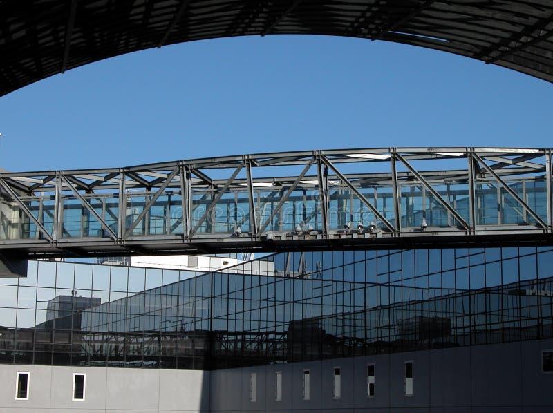 γέφυρα χωρική Στοκ φωτογραφία με δικαίωμα ελεύθερης χρήσης