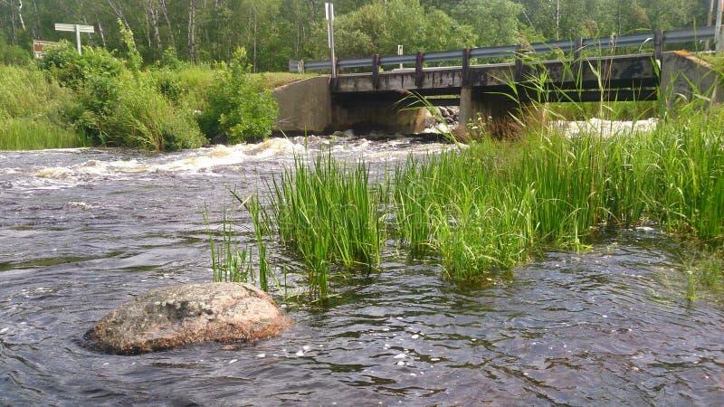 Γέφυρα χώρας στοκ φωτογραφίες με δικαίωμα ελεύθερης χρήσης