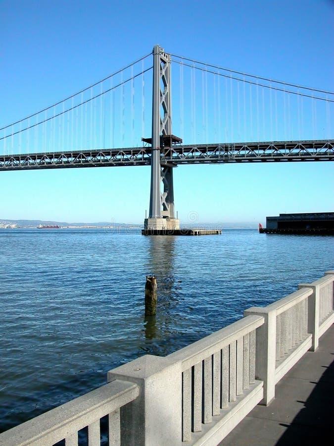 γέφυρα Όουκλαντ κόλπων στοκ εικόνα με δικαίωμα ελεύθερης χρήσης