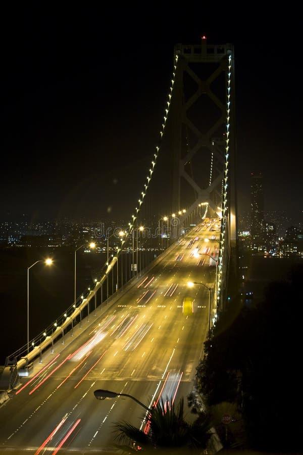 γέφυρα Όουκλαντ κόλπων στοκ φωτογραφία με δικαίωμα ελεύθερης χρήσης