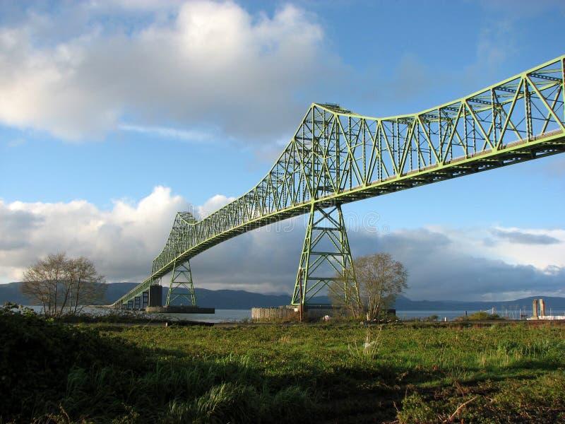 Γέφυρα astoria-Megler στοκ φωτογραφία