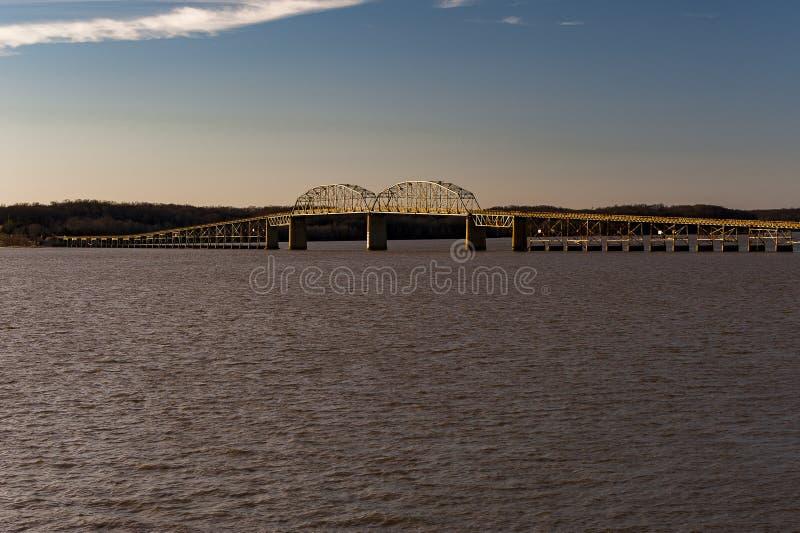 Γέφυρα Barkley λιμνών - λίμνη Barkley, Κεντάκυ στοκ φωτογραφίες