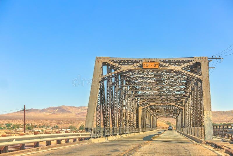 Γέφυρα Barstow σιδήρου στοκ εικόνες