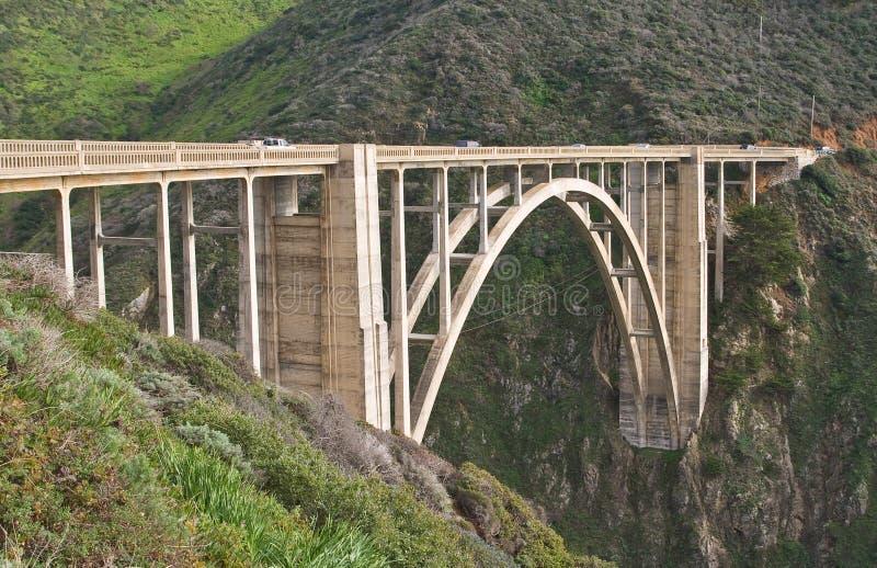 Γέφυρα Bixby στοκ εικόνες με δικαίωμα ελεύθερης χρήσης