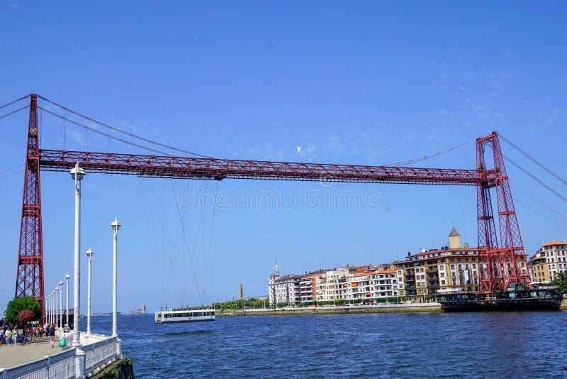 Γέφυρα Bizkaia, Ισπανία Το Fotost το 2018 στοκ φωτογραφίες με δικαίωμα ελεύθερης χρήσης