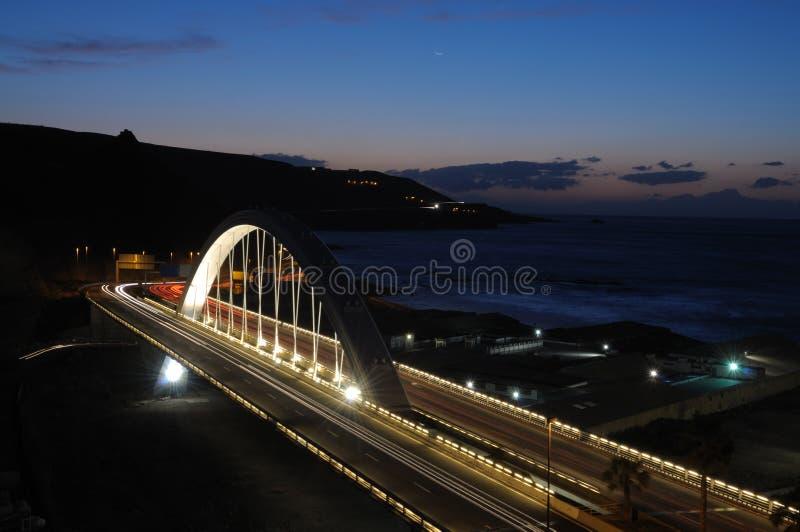 γέφυρα canaria de gran Λας Πάλμας στοκ εικόνες