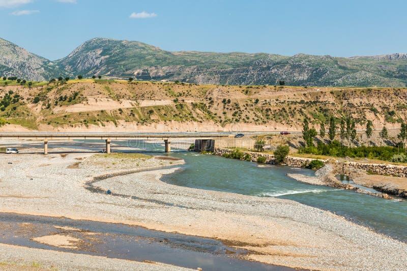 Γέφυρα Cendere, επαρχία Adıyaman, Τουρκία στοκ φωτογραφία