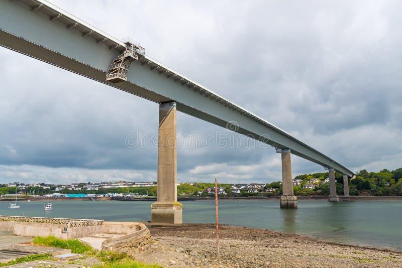 Γέφυρα Cleddau στοκ εικόνες