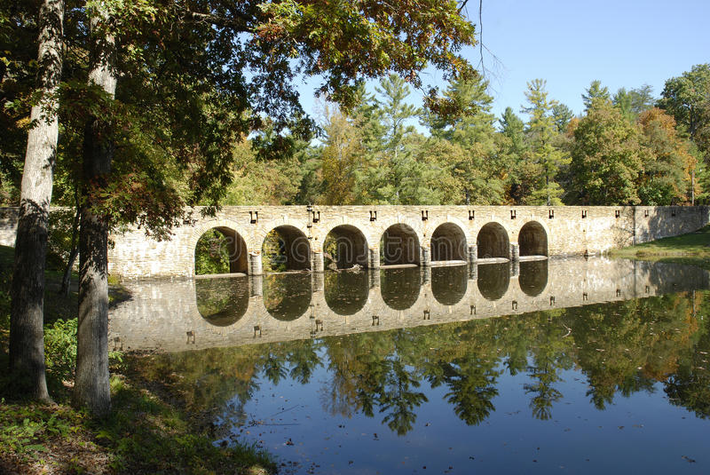 γέφυρα Cumberland στοκ εικόνα