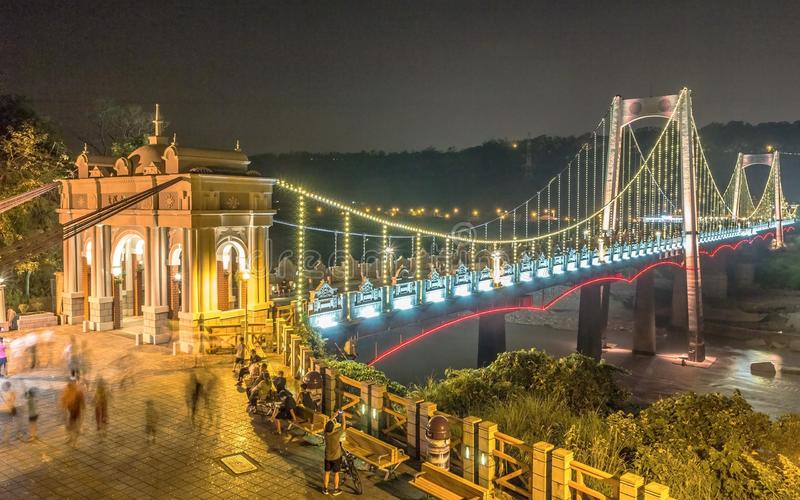 Γέφυρα Daxi στοκ φωτογραφία με δικαίωμα ελεύθερης χρήσης