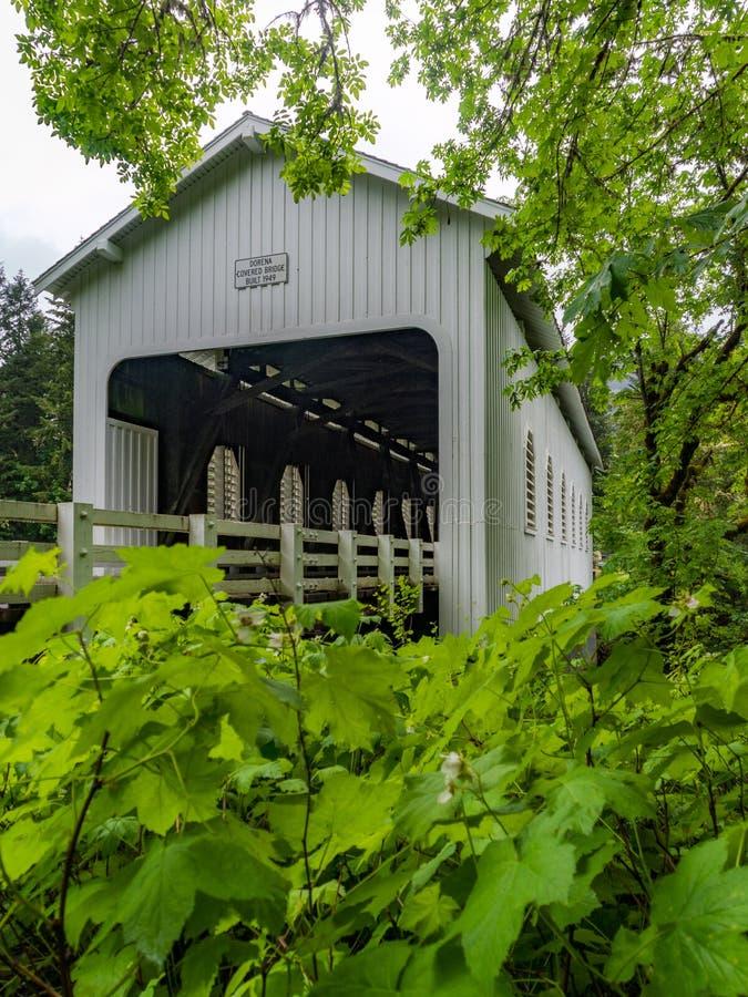Γέφυρα Dorena στοκ φωτογραφία με δικαίωμα ελεύθερης χρήσης