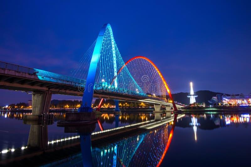 Γέφυρα EXPO σε Daejeon, Κορέα στοκ φωτογραφίες με δικαίωμα ελεύθερης χρήσης