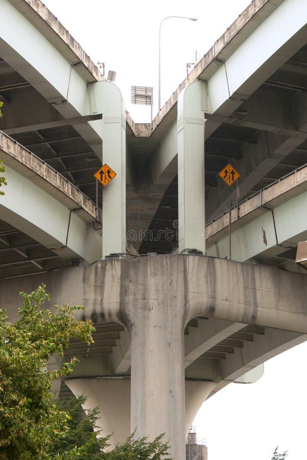 Γέφυρα Fremont στοκ φωτογραφία με δικαίωμα ελεύθερης χρήσης