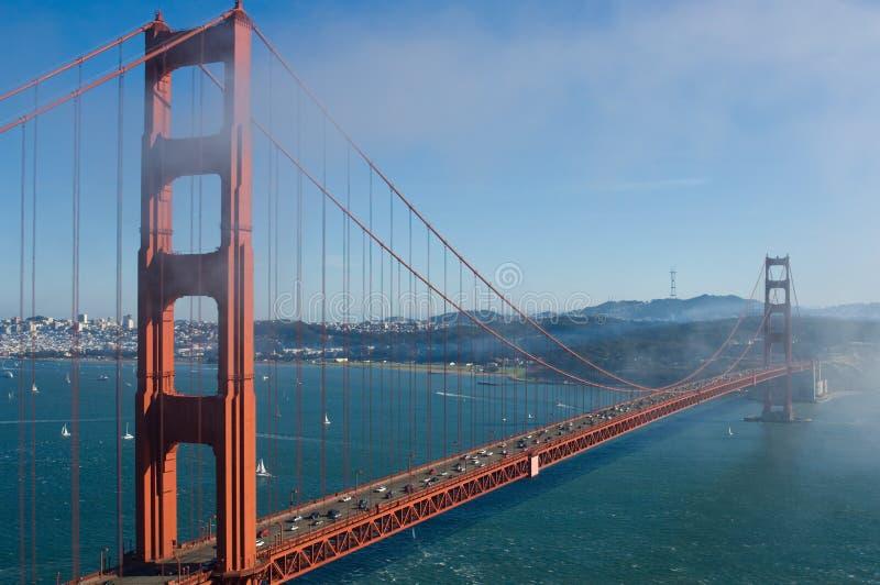 γέφυρα goldengate στοκ εικόνες