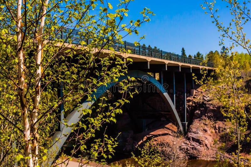 Γέφυρα HWY 61 στοκ φωτογραφία