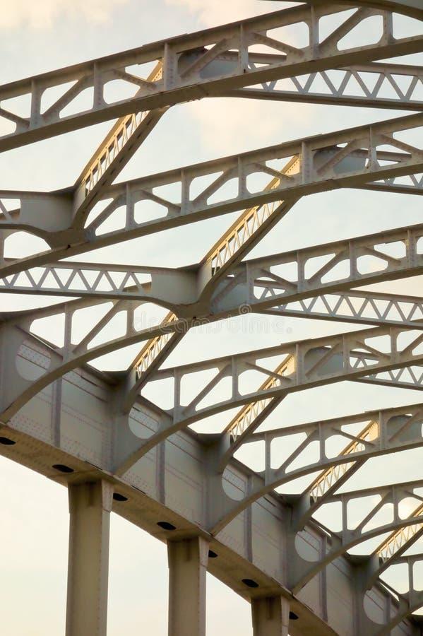 Γέφυρα Katsukebashi στο άνοιγμα και το κλείσιμο της γέφυρας στοκ εικόνες