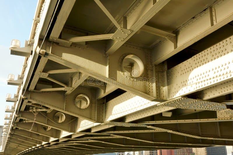 Γέφυρα Katsukebashi στο άνοιγμα και το κλείσιμο της γέφυρας στοκ φωτογραφίες με δικαίωμα ελεύθερης χρήσης