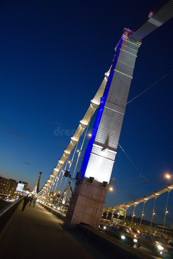 γέφυρα krymsky στοκ φωτογραφίες με δικαίωμα ελεύθερης χρήσης