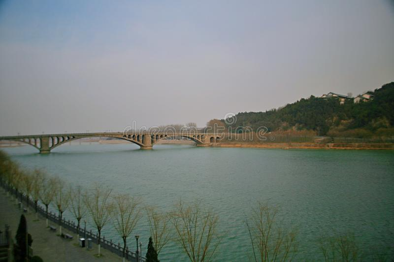 Γέφυρα Longmen σε Luoyang στοκ εικόνες με δικαίωμα ελεύθερης χρήσης