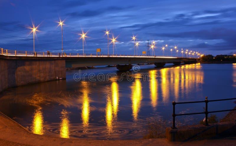 Γέφυρα Loughor στοκ φωτογραφία με δικαίωμα ελεύθερης χρήσης