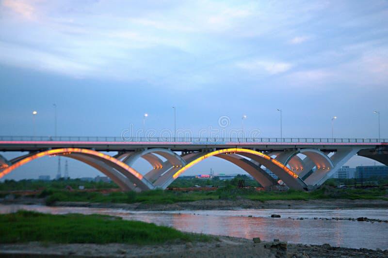 Γέφυρα Luoyang στοκ εικόνες