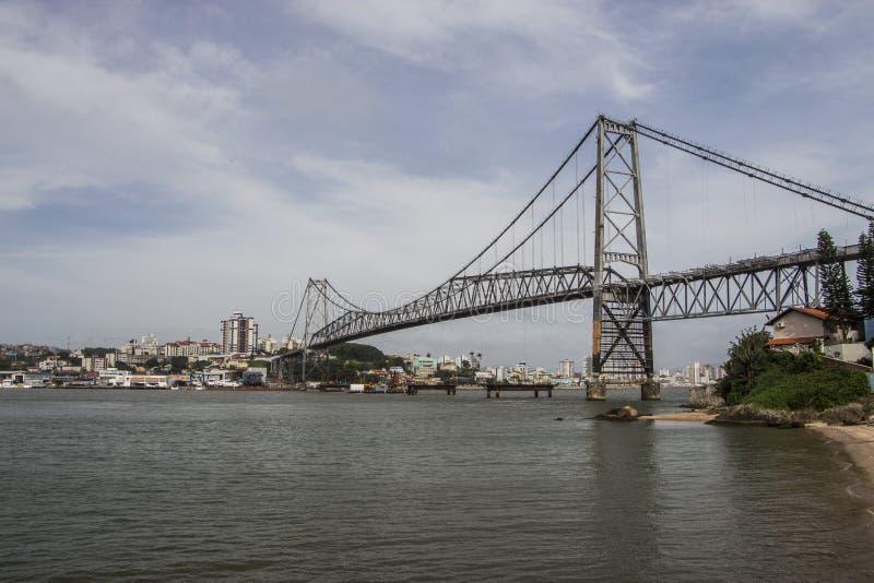 Γέφυρα Luz Hercílio - Florianopolis - Sc - Βραζιλία στοκ εικόνες