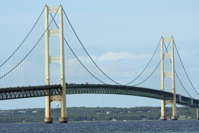 γέφυρα mackinac στοκ εικόνα