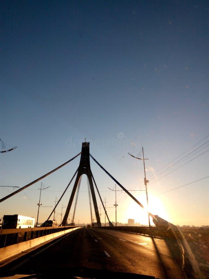 Γέφυρα Moscowskij στοκ φωτογραφία