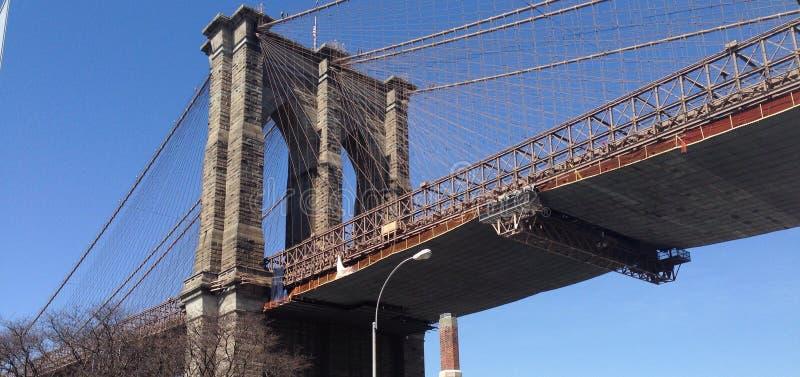 Γέφυρα NYC Brookling στοκ εικόνες
