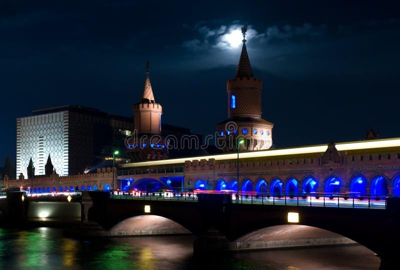Γέφυρα Oberbaumbrücke. στοκ φωτογραφία με δικαίωμα ελεύθερης χρήσης