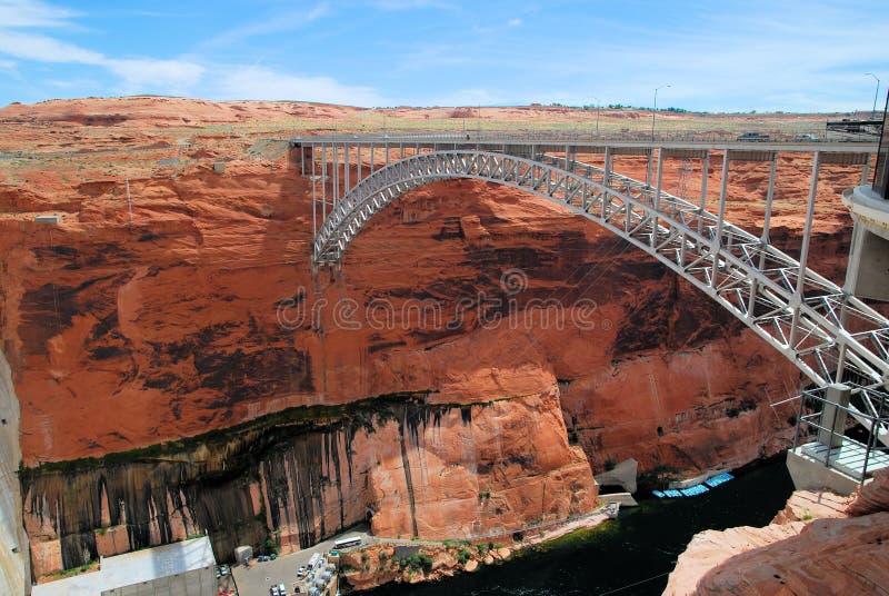 Γέφυρα Powell λιμνών στοκ εικόνα με δικαίωμα ελεύθερης χρήσης