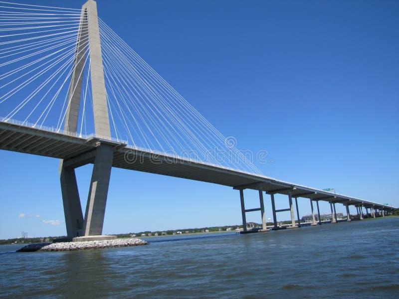 Γέφυρα Revenel στο Τσάρλεστον, Sc στοκ εικόνες